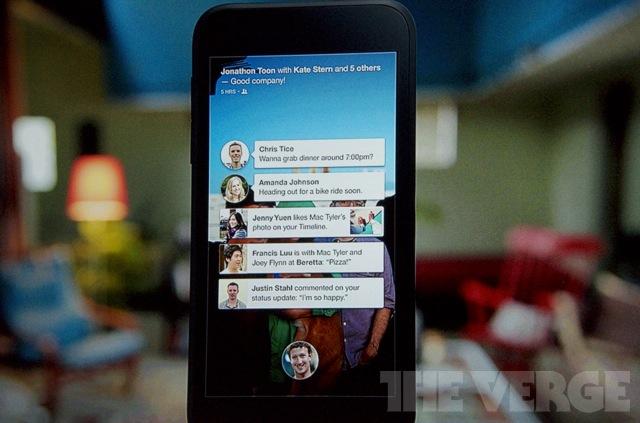 Facebook Home HTC First