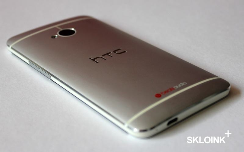 HTC One backside